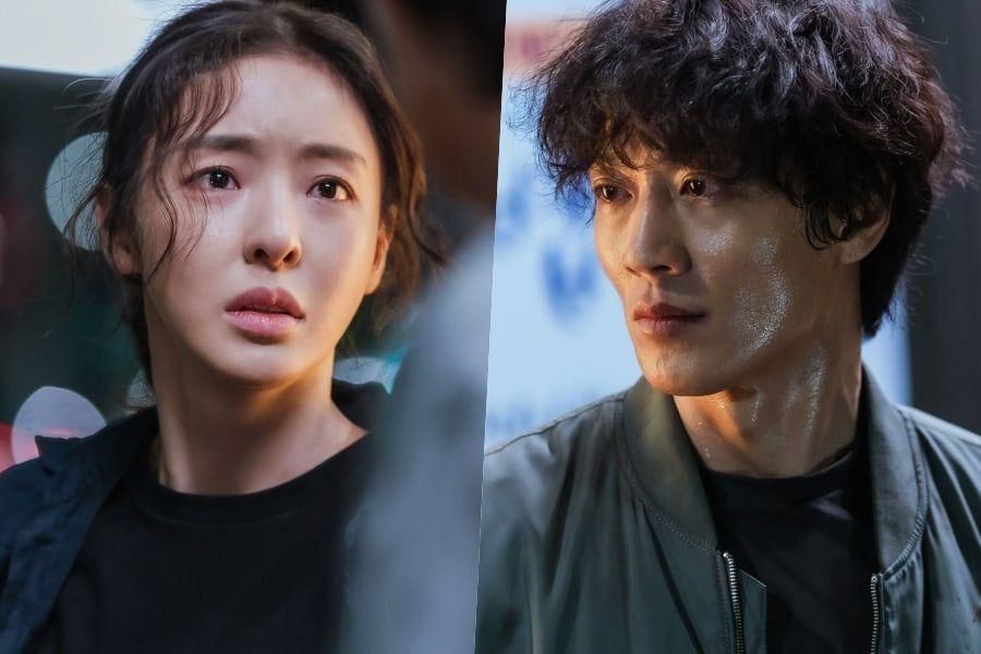 """Lee Da Hee And Kim Rae Won Get Tangled Up In Complex Emotions In """"L.U.C.A.: The Beginning"""""""