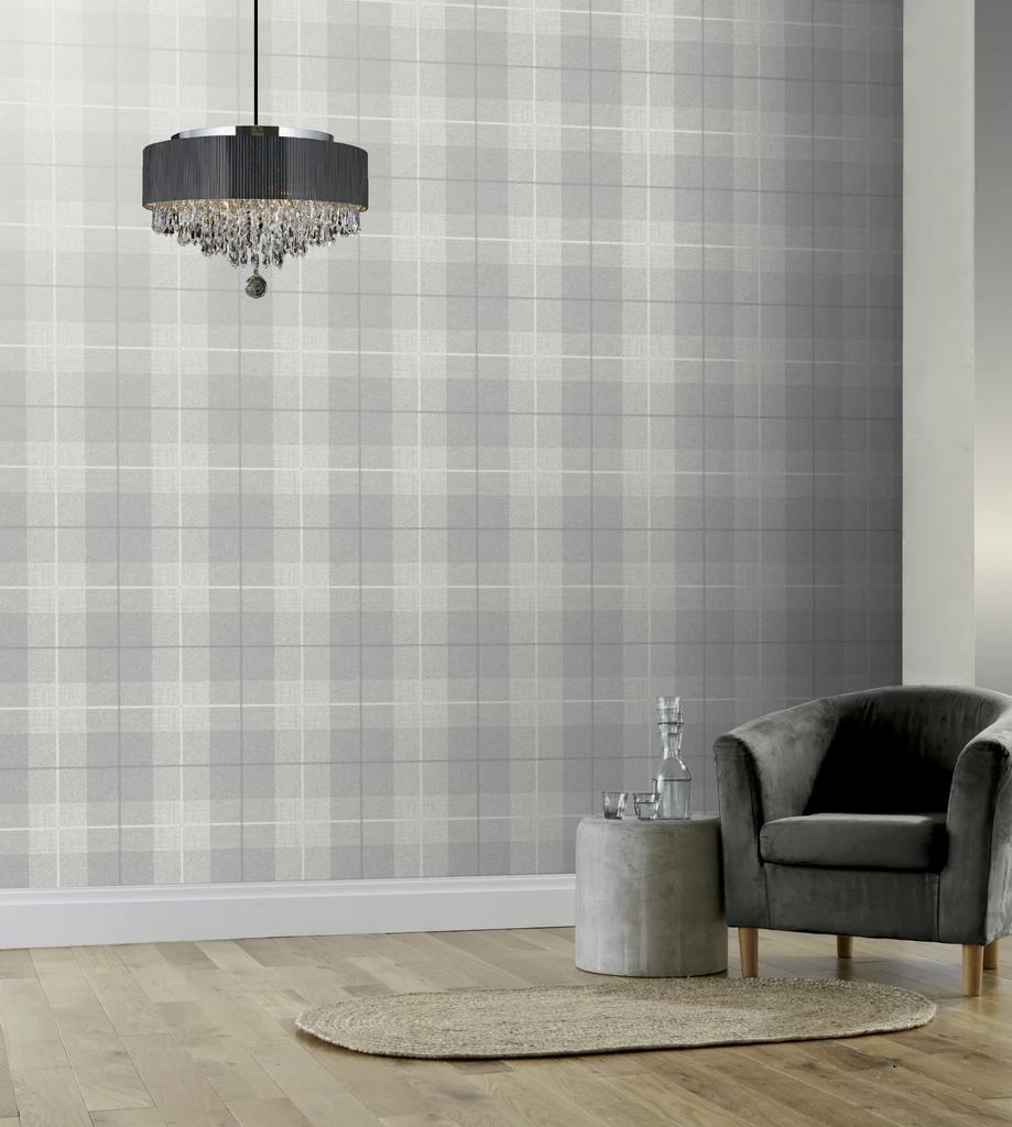 Country Tartan Grey Tartan Wallpaper Grey Wallpaper