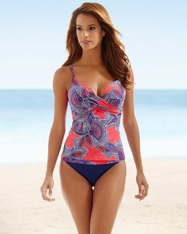 75b12c6294 Soma Intimates Captiva Molded Cup Push Up Swim Tankini Top #somaintimates  MY SOMA WISH LIST SWEEPS