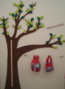 Luxury Wanddeko aus Holz statt Wandtatoo Messlatte zum Aufzeichnen des Wachstums eurer Kinder auch als