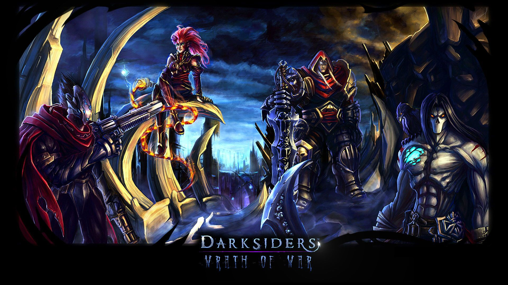 darksiders | games | pinterest | wallpaper, game background and hd