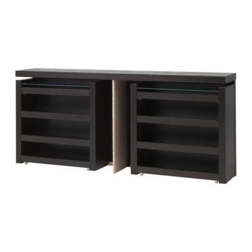 Ikea Malm Zwevend Nachtkastje.149 Euro Malm Hoofdeinde Bedplank 3 Delig Ikea Zwartbruin