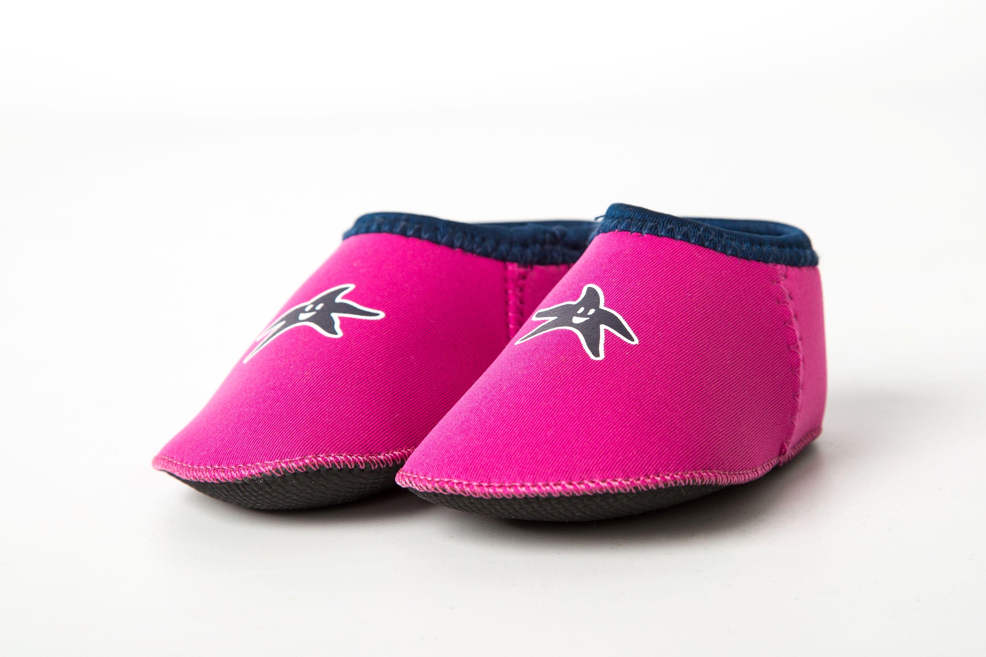 Shore Feet Baby Padders Pink