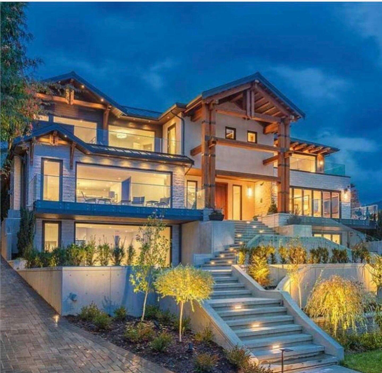 Mega mansions exteriors pinterest casas lujos y - Mansiones de ensueno ...