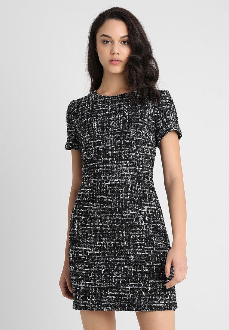 Warehouse MONO SPARKLE DRESS , Vestito estivo , black/grey , Zalando.it