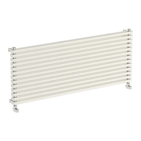 Mode Cadence Horizontal Radiator 600 X 1500 Horizontal Radiators Designer Radiator Stainless Steel Bar