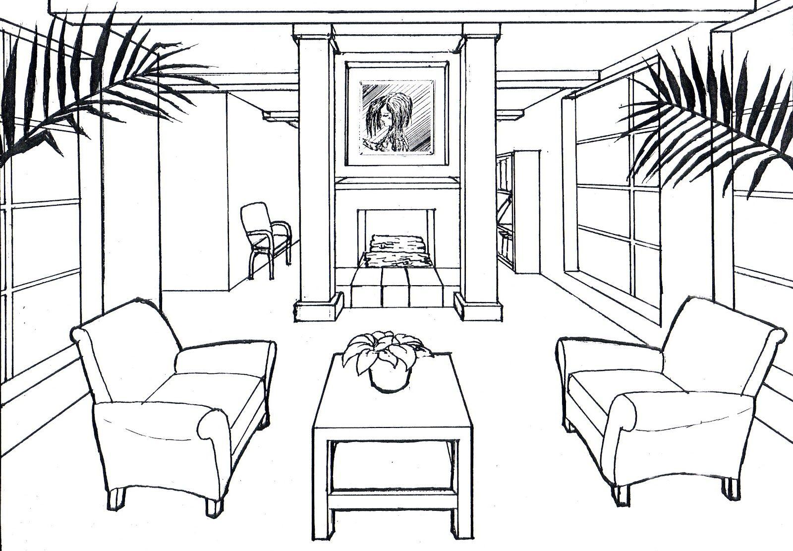 draw perspective lines - Cerca con Google   Disegni da colorare ...