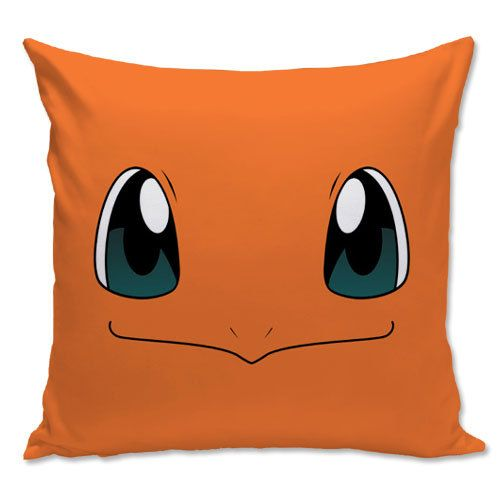 Pokemon pillow, Charmander Pillow, Gamer pillow