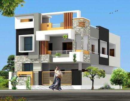 Image result for elevation designs for individual houses for Individual house front elevation