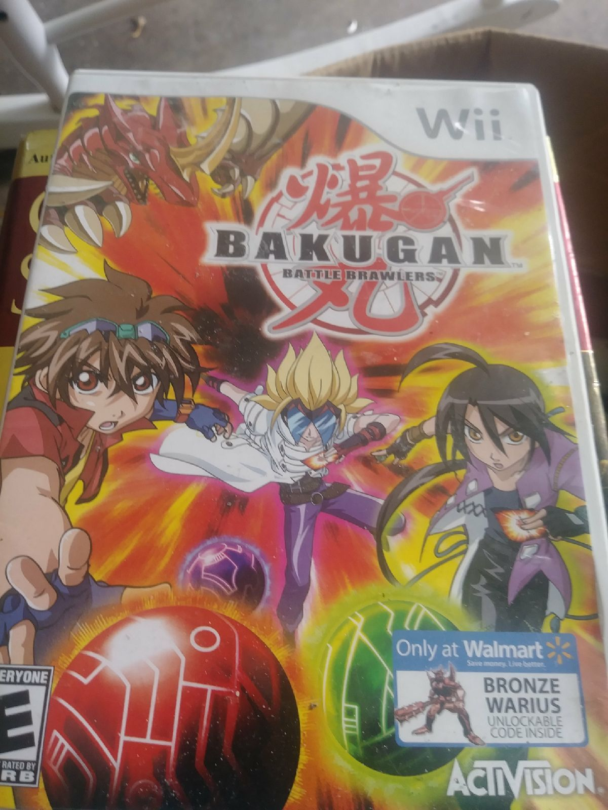 Wii Games Bakuga Battle Brawlers Book And Case Wii Games Comic