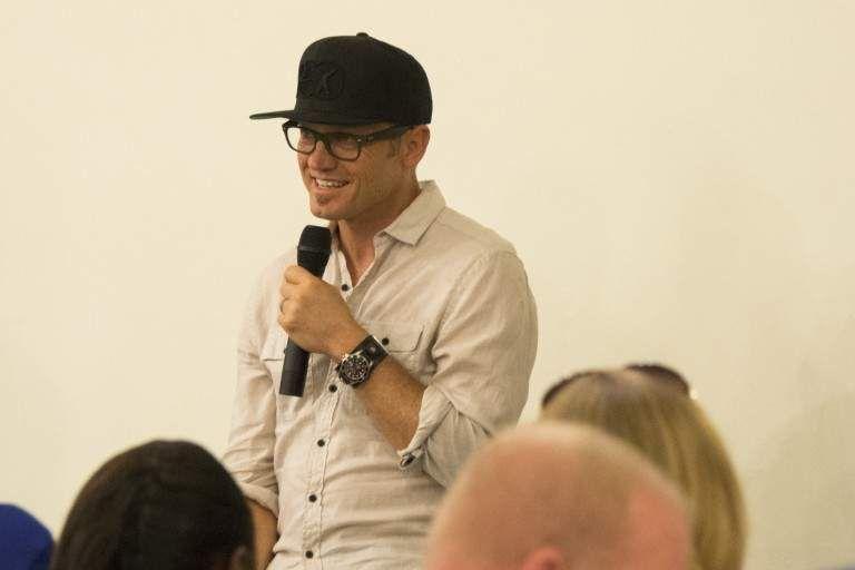 TobyMac's Meet & Greet during Rock the World 2014