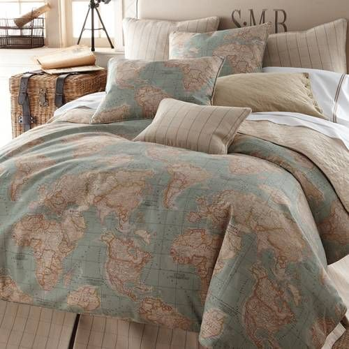 Legacy Home World Map Bedding By Legacy Home Bedding, Comforters ...