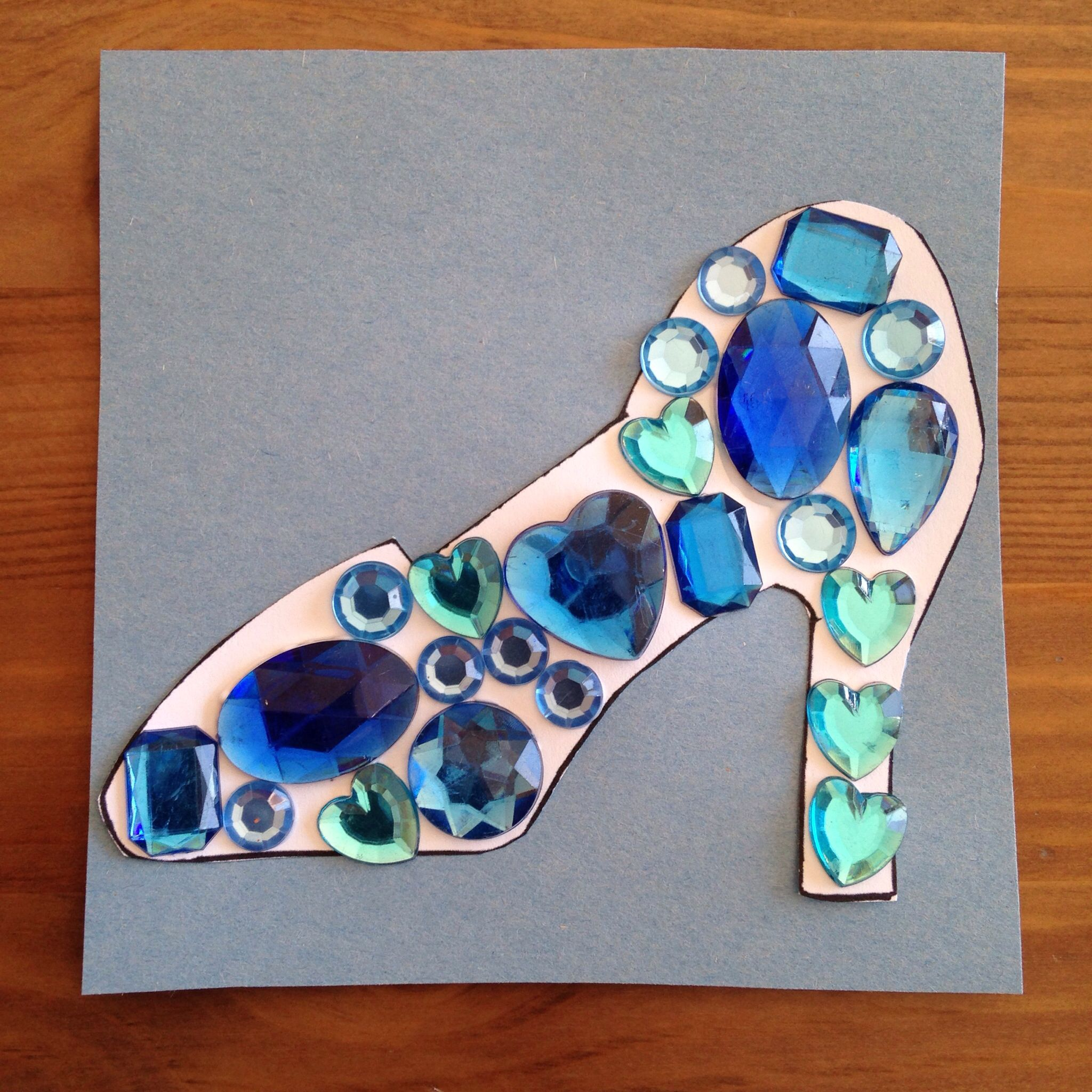 Cinderella S Glass Slipper Craft