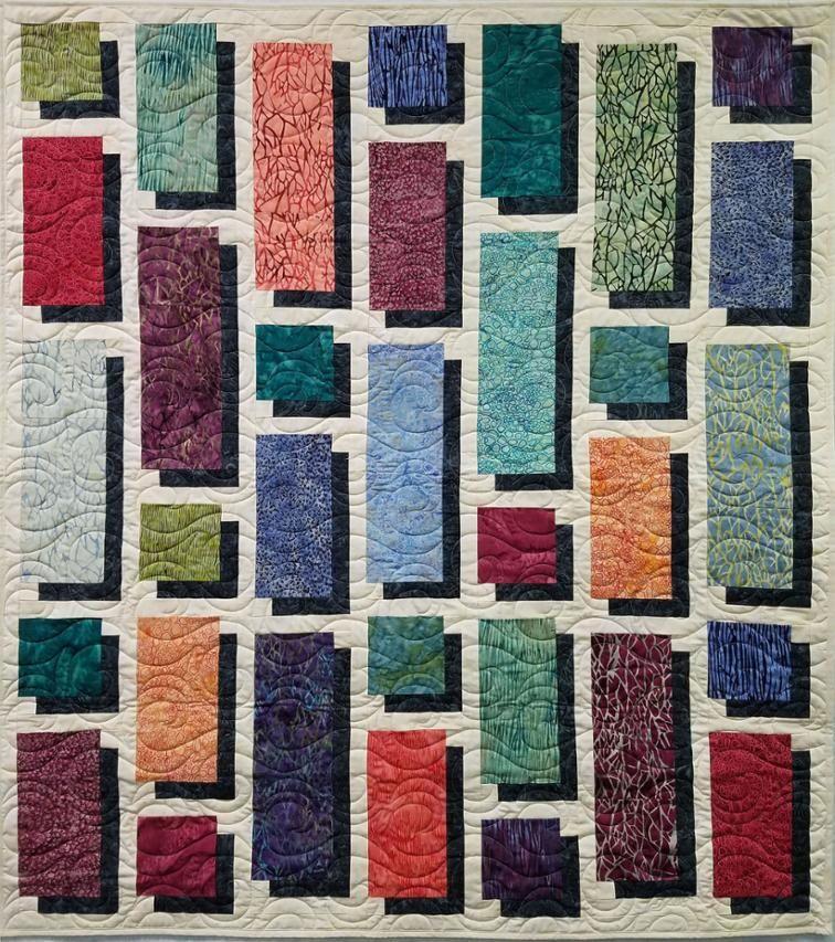 Free Quilt Pattern City Shadows I Sew Free Quilt Patterns Quilts Quilt Patterns Free