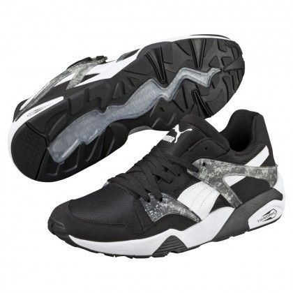 BTS x Puma Blaze Shoes MRBL LTHR Black 36067401 9317b4385