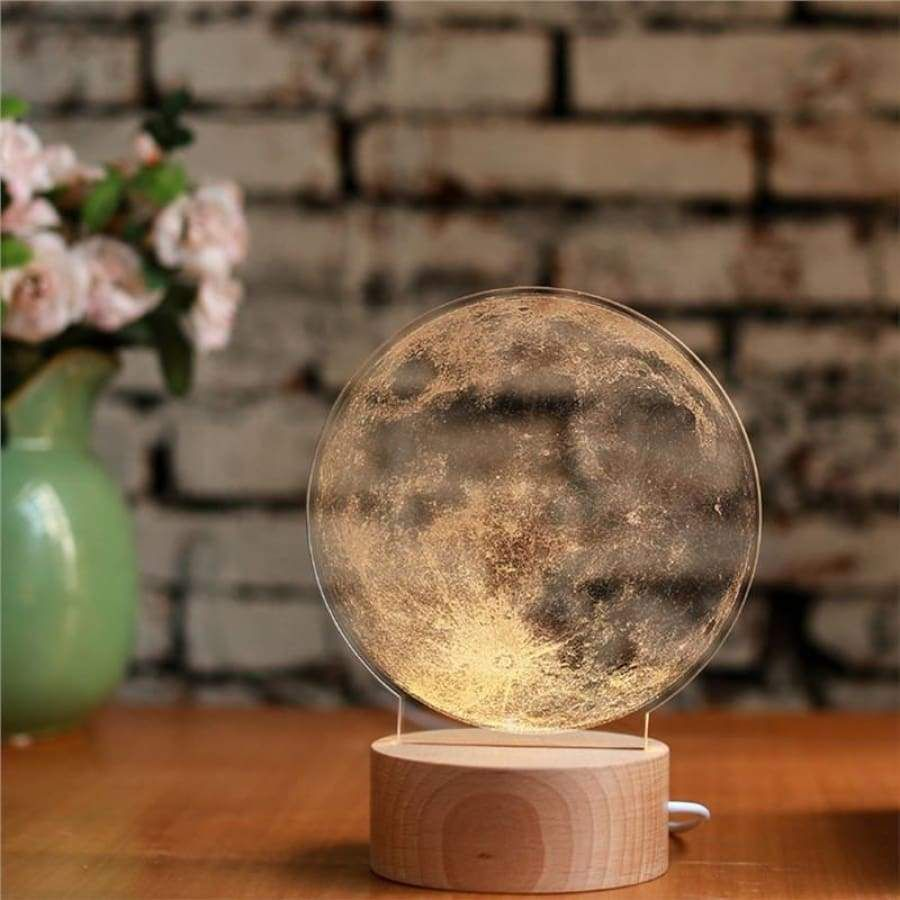 Acrylic Moon Lamp Night Lamps Led Night Light 3d Lamp