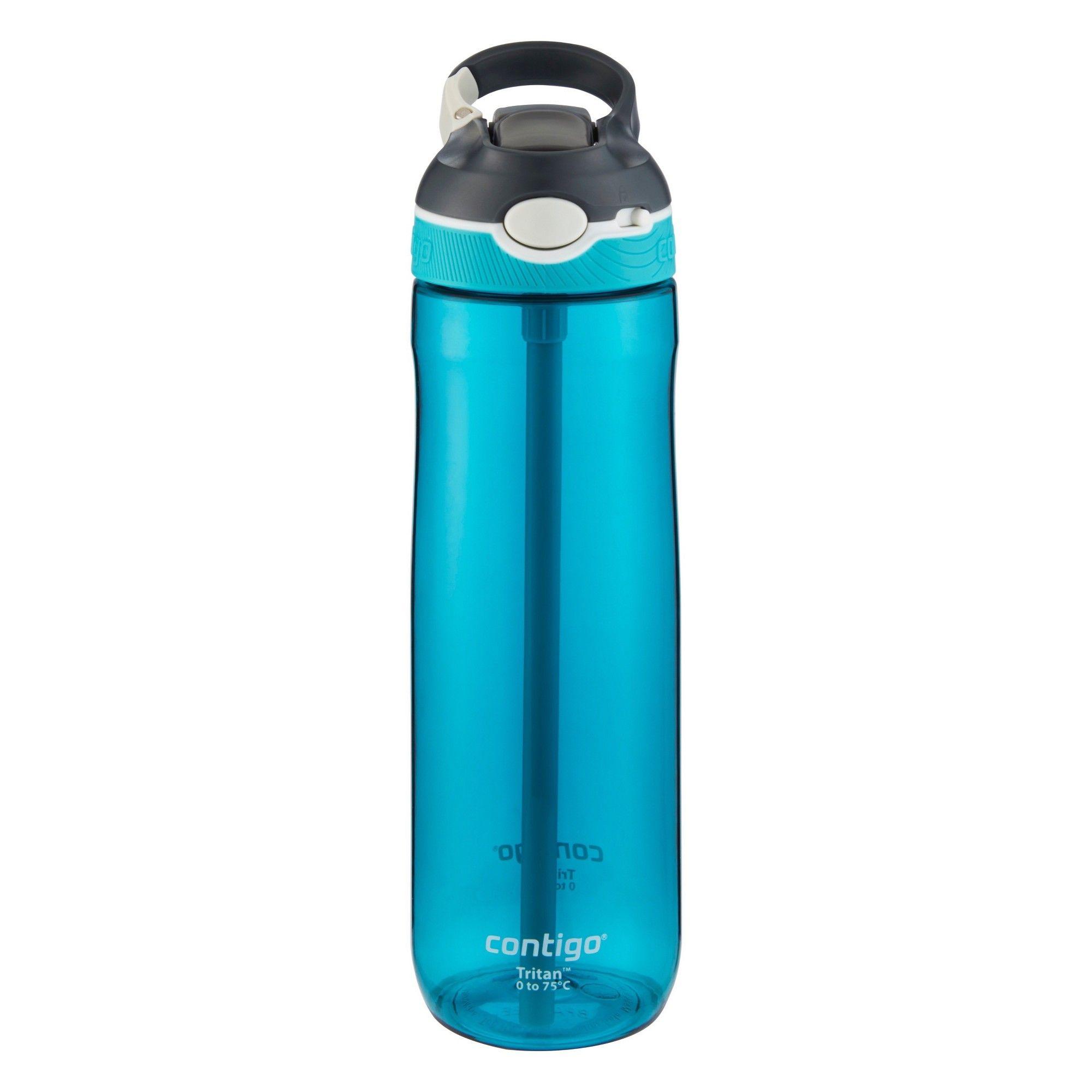 Contigo 24oz Autospout Straw Ashland Water Bottle Scuba