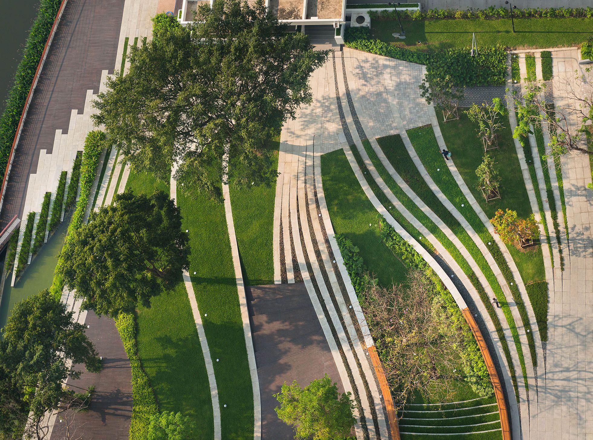 pin qin residence landscape
