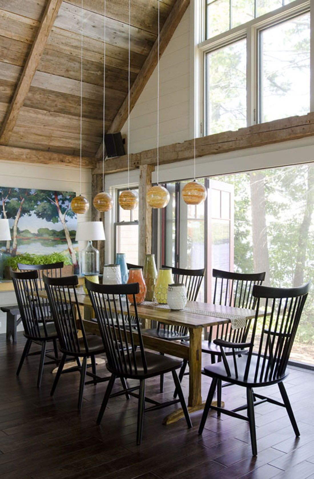 Gorgeous Lakeside Getaway In Maine Designed To Feel Like A