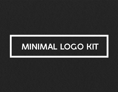 """#Minimal Logo Kit by DesignDistrict"" http://be.net/gallery/34371973/Minimal-Logo-Kit-by-DesignDistrict"