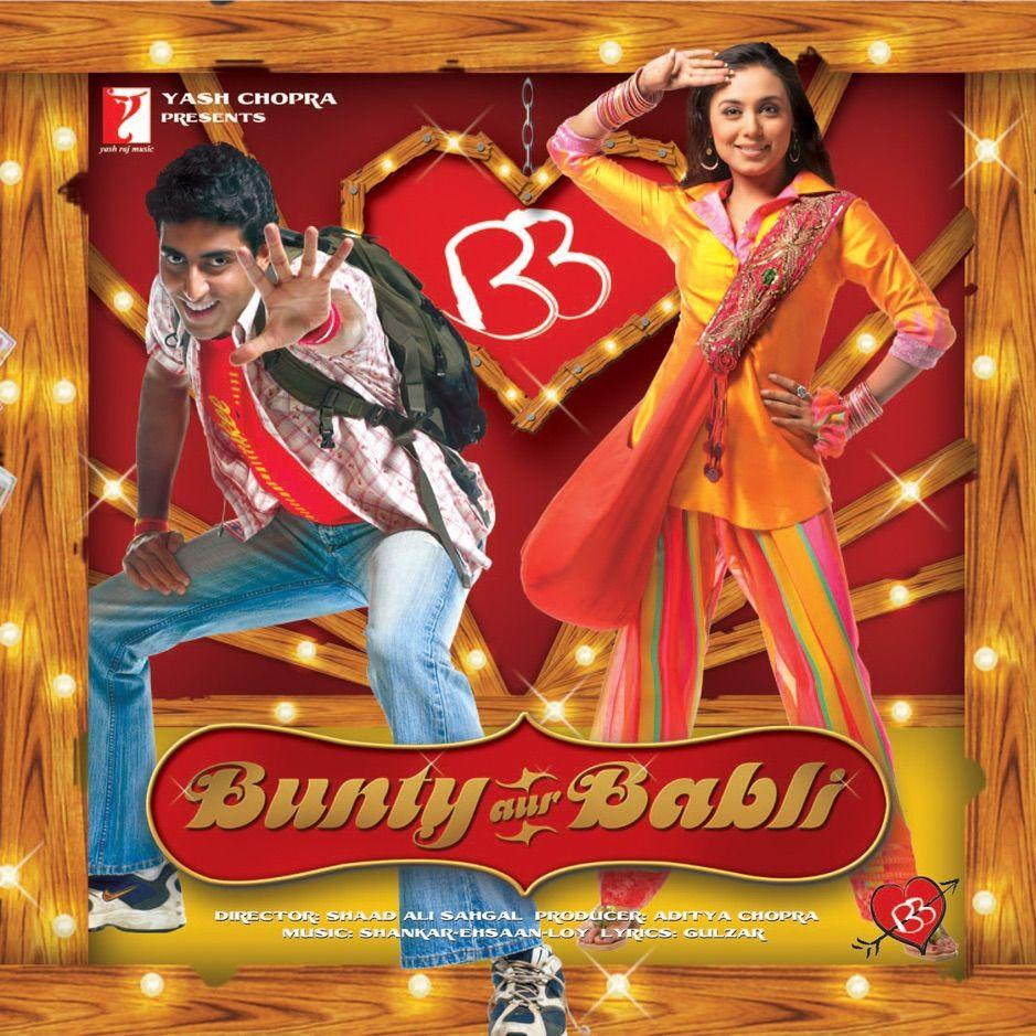Bunty Aur Babli Original Motion Picture Soundtrack By Shankar Ehsaan Loy Ad Motion Original Sound Bollywood Music Shankar Mahadevan Motion Picture