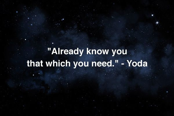 Star Wars Inspirational Quotes