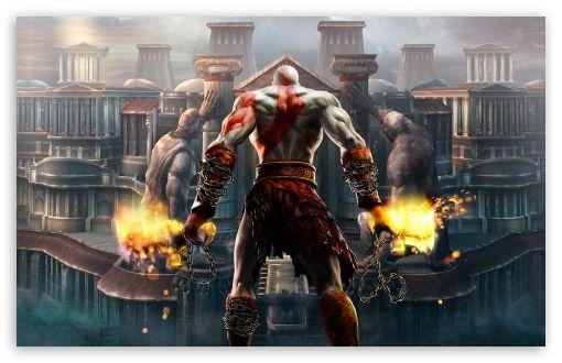 god of war 3 trailer official 1080p wallpapers