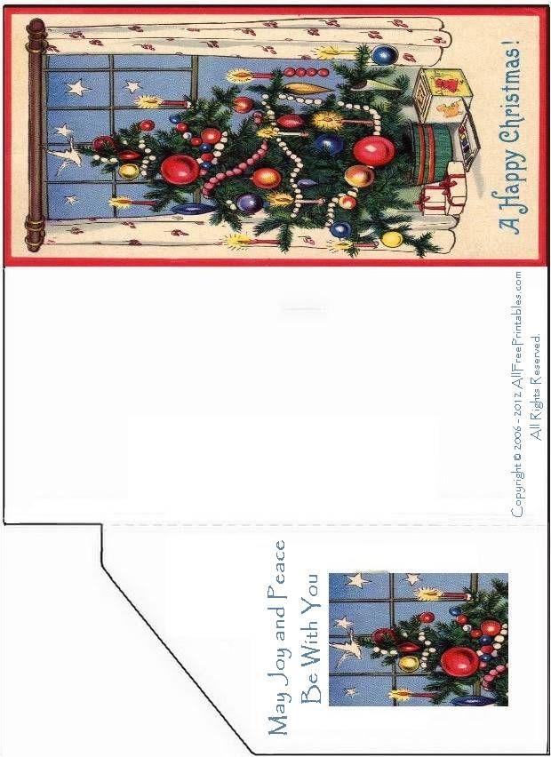 free printable christmas cards free printable christmas card money enclosure or greeting card - Free Printable Xmas Cards