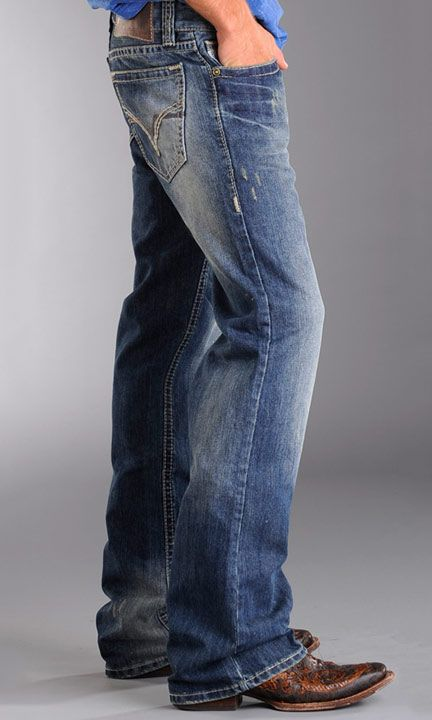 35252dc452e4 Rock   Roll Cowboy Men s Relaxed Fit Double Barrel. Love the boot too!