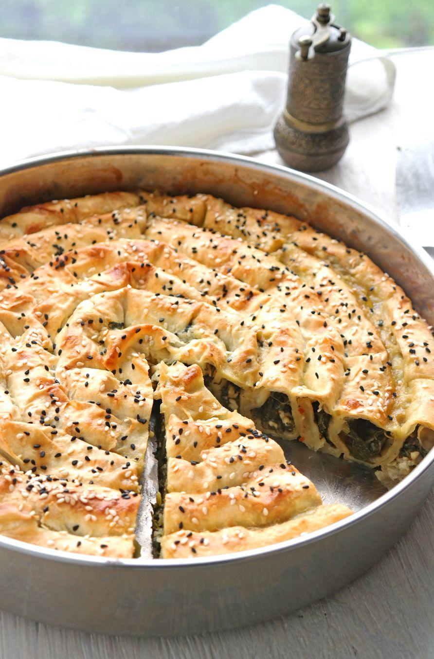 Schneckenbörek mit Spinat – Ispanaklı Kol Böreği - So nach Gefühl #jpg