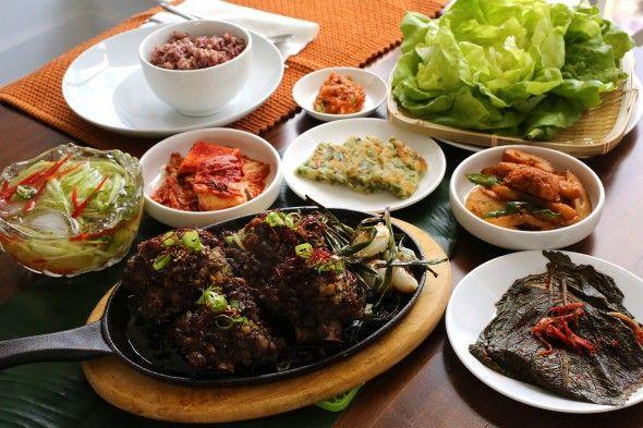 Seasoned Minced Grilled Short Ribs - tteokgalbi (떡갈비)