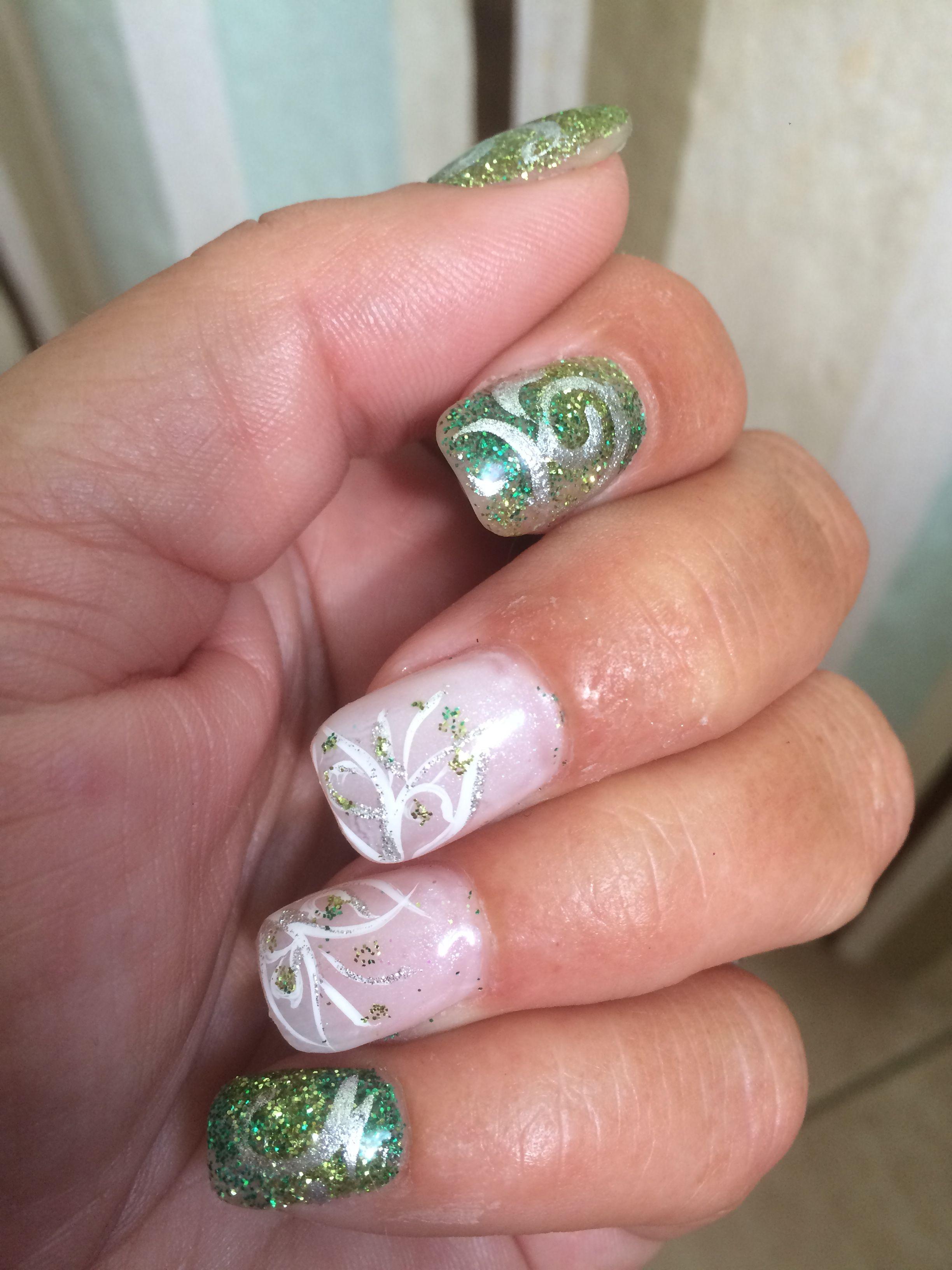tinkerbell #disney #nails | Nail art | Pinterest