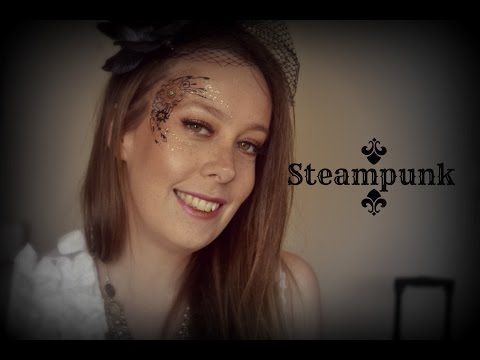 Steampunk Makeup Tutorial by Love Birdy - Halloween Costume Ideas - female halloween costumes ideas