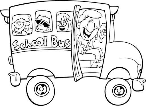 Colorear Autobus escolar #niños la vuelta al cole | Manualidades ...