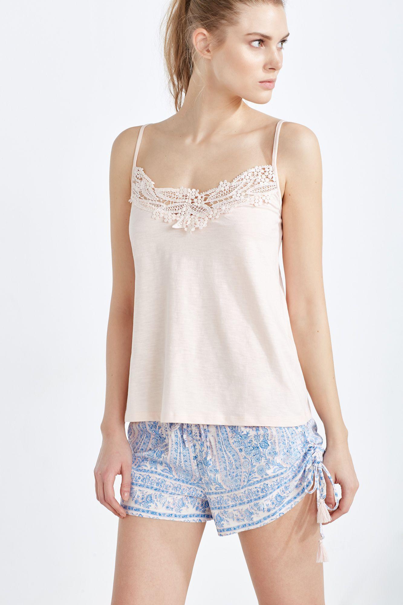 e625aa159c Women´secret - Pijama corto de algodón