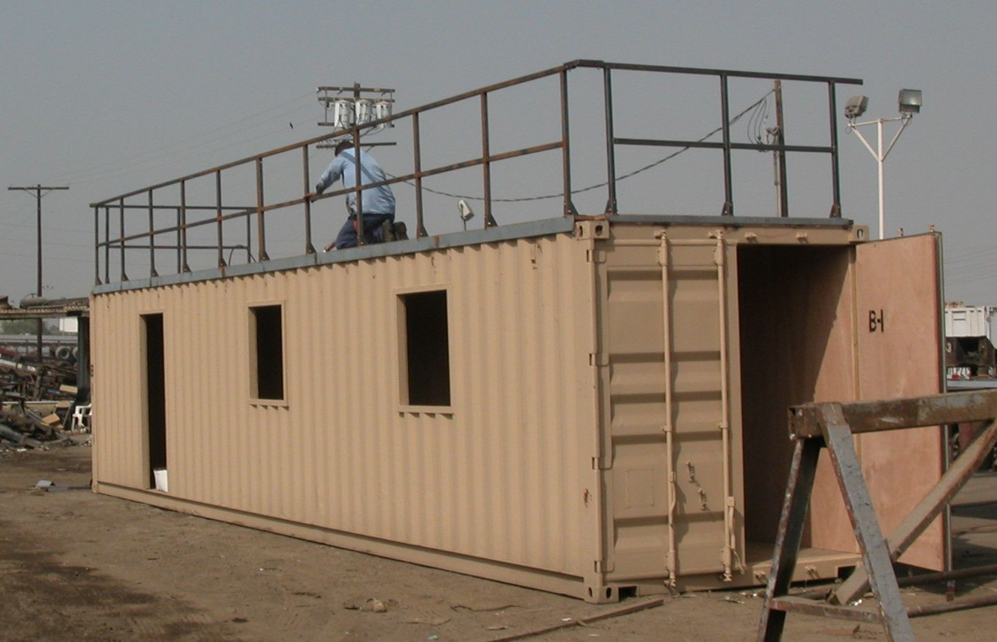 Built Rite Industries Llc Conex Box House Box Houses Container House Design