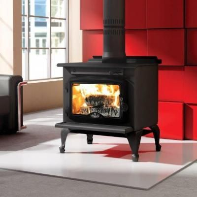 Heatflow Wood Stove With 6 Free Flow Hot Air Tubes Wood Stove Wood Stove Fireplace Wood Stove Heater