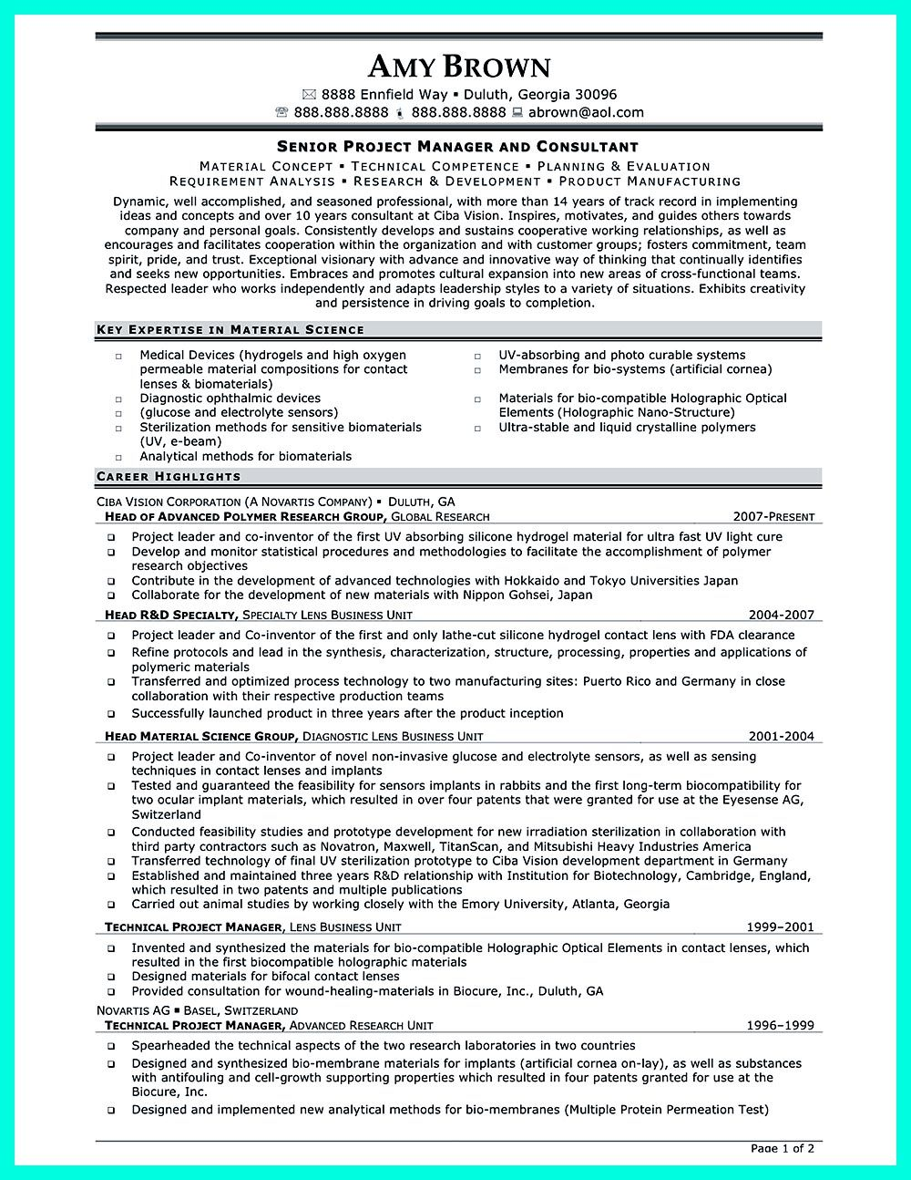 Clinical Research Associate Resume objectives are needed to ...
