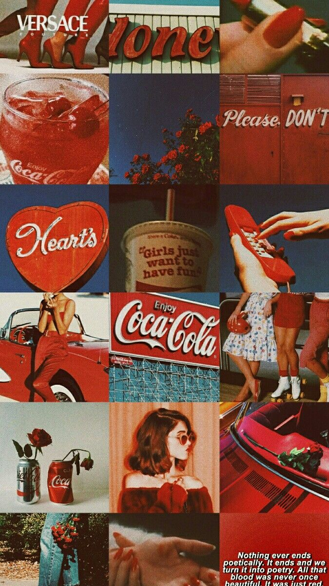 Vintage Red Aesthetic Cute Wallpapers Aesthetic Iphone Wallpaper