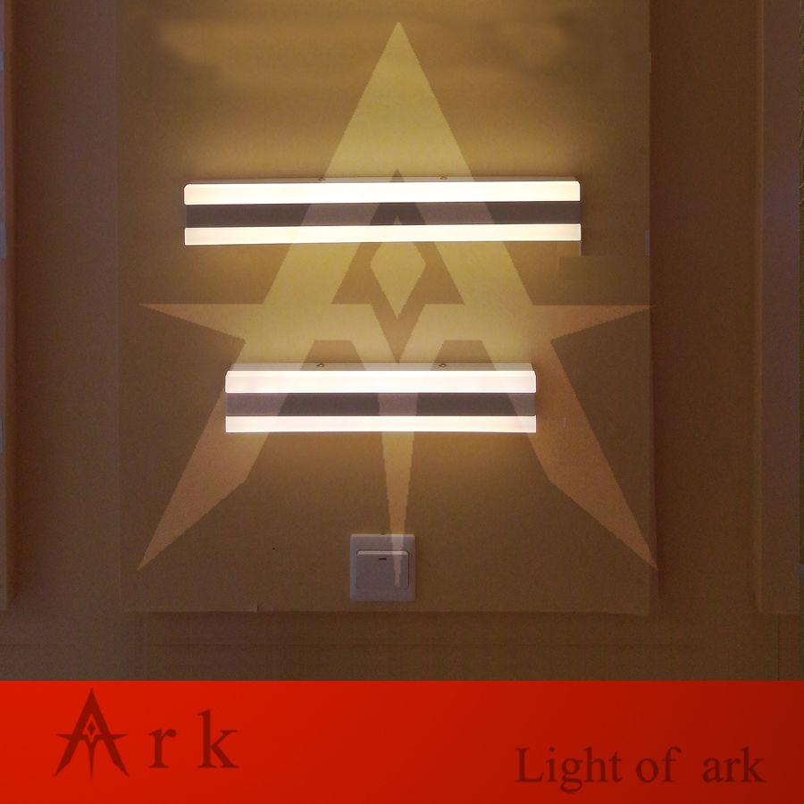 Ark light modern cm led w led modern acrylic wall lamp bathroom