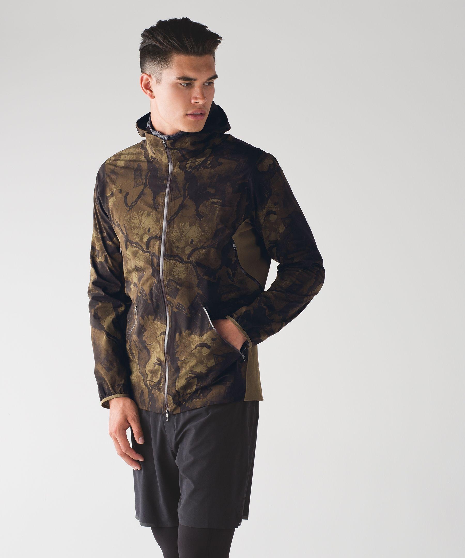 Surge Fast Forward Shell Mens jackets, Jackets, Lululemon