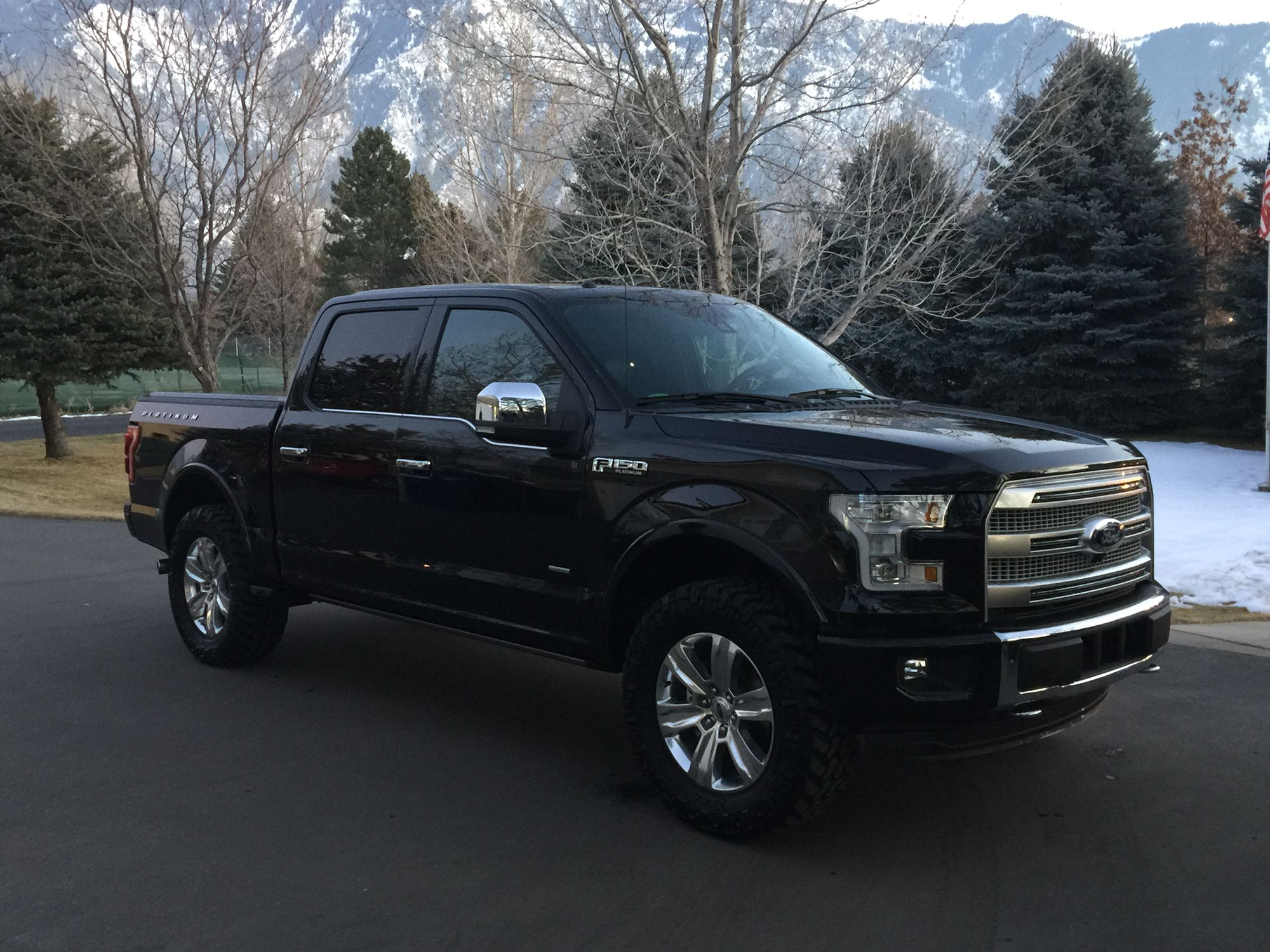 Ford f 150 lift kits 2016 car release date - 2015 F150 Platinum Leveling Kit 35 Tires
