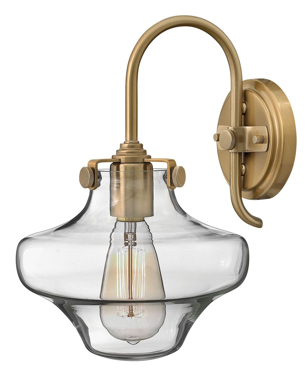 Hinkley Lighting (Congress 3171BC) Single Light Wall ... on Decorative Wall Sconces Candle Holders Chrome Nickel id=26432
