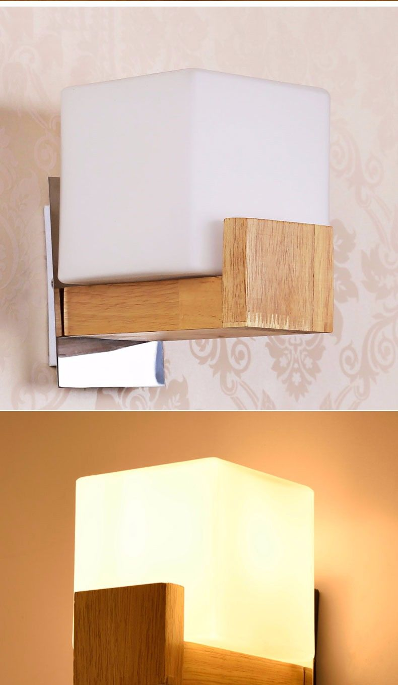 Design luxury wall sconce vintage industrial lighting modern led design luxury wall sconce vintage industrial lighting modern led wall light fixtures oak wood wall lamp amipublicfo Images