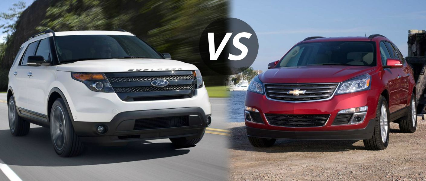 Ford Explorer Vs  Chevy Traverse