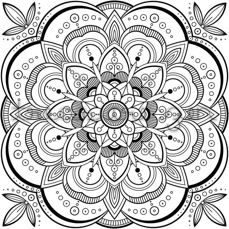 20 Best Mandala Coloring Books Pdf Coloring Pages Mandala