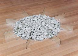 Chalk-Mirror Displacement Robert Smithson, 1969