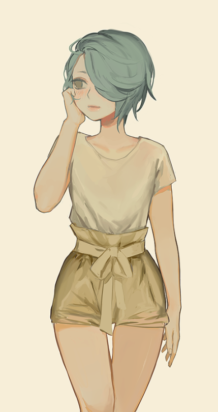 She's so cuuuteeee How to draw hair, Short hair drawing