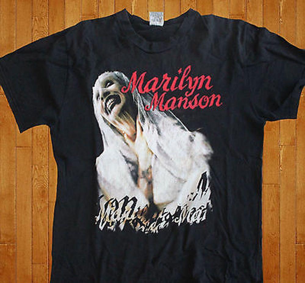 ea5ea0bd5b05 New Rare Marilyn Manson T Shirt 90s Sweet Dreams Usa size. #Gildan  #GraphicTee