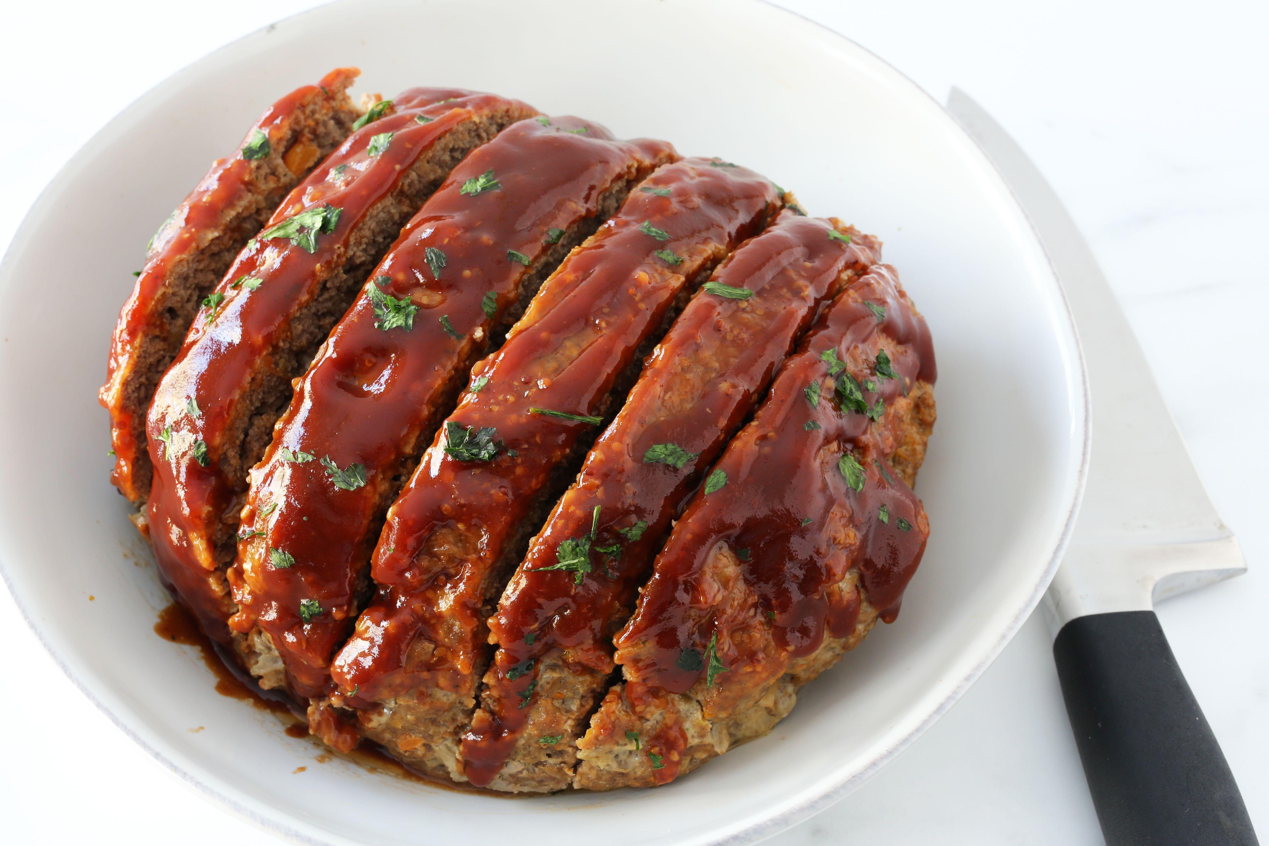 Enjoy An Old Fashioned Instant Pot Meatloaf In Half The Time Recipe Meatloaf Recipes Meatloaf Recipes
